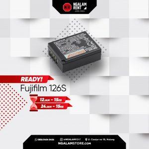 Sewa Fujifilm 126S Battery Original di Malang • NGALAMSTORE