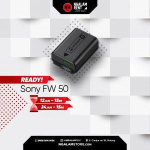 Sewa Baterai Sony FW50 Original di Malang • NGALAMSTORE