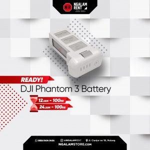 Sewa Baterai DJI Phantom 3 Original di Malang • NGALAMSTORE