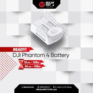Sewa Baterai DJI Phantom 4 Original di Malang • NGALAMSTORE