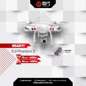 Sewa Drone DJI Panthom 3 di Kota malang • NGALAMSTORE