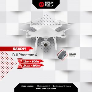 Sewa Drone DJI Phantom 4 di Malang • NGALAMSTORE