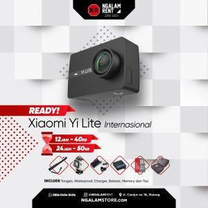 Sewa Action Camera Xiaomi Yi Lite Internasional di NGALAMSTORE