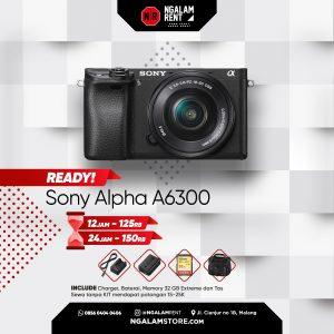 Sewa Kamera Mirrorless Sony Alpha A6300 di Malang